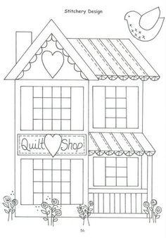 crochet hat quilt shop i love quilts! Hand Embroidery Patterns, Applique Patterns, Applique Quilts, Applique Designs, Craft Patterns, Embroidery Applique, Cross Stitch Embroidery, Quilt Patterns, Embroidery Designs