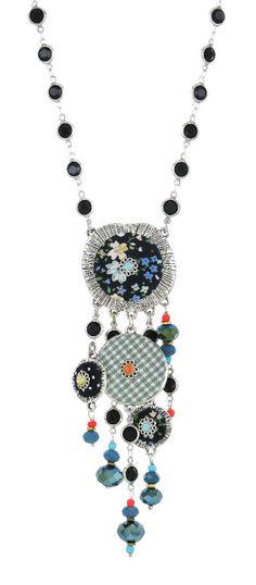 Collier TARATATA. Bijoux créateurs. En vente en boutique et sur notre site internet : http://www.bijouterie-influences.com/search.php?search_query=taratata+rhapsodie