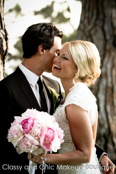 The bride looked stunning in all her pics with prince charming by her side.