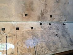Prisoner graffiti - carved into the walls of Beauchamp Tower at the Tower of London. Very creepy!