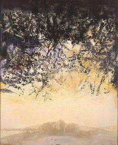 11-11-1996, 1996  Zao Wou-Ki