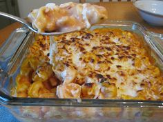 Tortellini Bake -- five ingredients and only twenty minutes in the oven once the pasta is cooked.