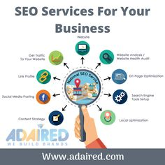Get valuable traffic and brand value with AdAired Digital Media. We provide customized SEO services at affordable prices and focus on online marketing strategies that will make you money. #seo #searchengineoptimization #searchengine #adaired #leads #business #website #brand #seoservices #digitalmarketing #marketing #socialmediamarketing #socialmedia #webdesign #branding #onlinemarketing #success #optimization #smallbusiness #digital