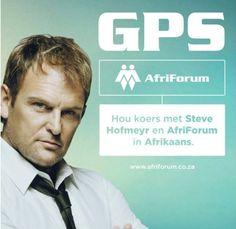 'n Afriforum GPS met Steve Hofmeyr se stem, draai regs tot jy dit nie meer kan verdra nie, dan ry jy jou kar van 'n brug af  http://gevaaalik.com/afriforum-het-geen-respek-vir-privaatheid-nie