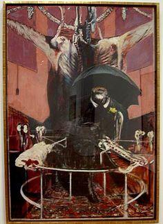 "rock_et_nothing's blog: 冷静な凶暴性、フランシス・ベーコン""絵画 1946年"""