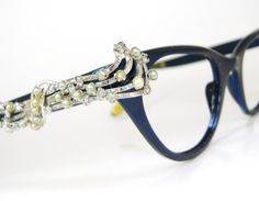 Rare Vintage Musical Note Cat Eye Eyeglasses by Vintage50sEyewear #ZENNIFASHIONCHALLENGE