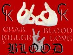 gang blood symbols | The Gang Symbol Of Bloods As Sign Reads Word Blood - kootation.com