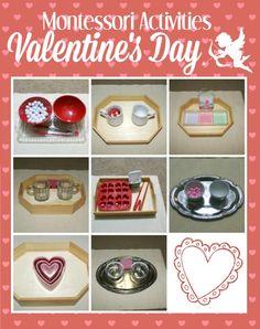 Montessori Activities for Valentine's Day