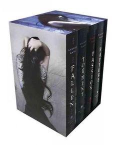 The Fallen in Love Boxed set contains all four hardcover editions of Lauren Kate's ridiculously romantic New York Times bestselling series. Fallen angels, demons, and a mortal or two thrown in for goo