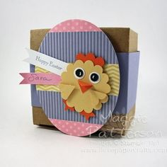 Easter Chick Favour Box - As Featured on Canadianliving.com