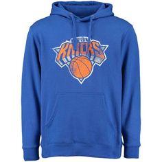 403e0d736 New York Knicks Distressed Hoodie Blue New York Knicks