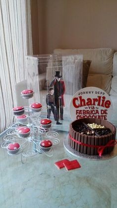 Cumple Wonka Cake, Desserts, Food, Meet, Hipster Stuff, Tailgate Desserts, Deserts, Kuchen, Essen