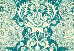 Shalimar Resist Linen Fabric Peacock