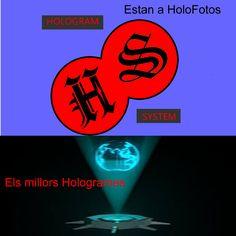 SI vols un holograma per a veure imatges en 3D; Compra-ho ja.