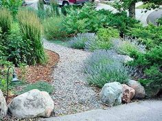 it's wise to choose landscaping elements that are appropriate to the climate and require minimal water. Because of their varying root systems, grass, trees, and flowers all have different water requirements. When you design your garden, consider the layout of the irrigation system, and try to arrange plants according to the amount of water they need!