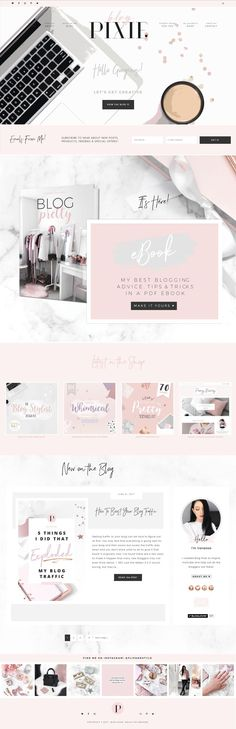 Blog Pixie is full of branding, blogging, design and social media tips for bloggers! Visit here: http://blogpixie.com