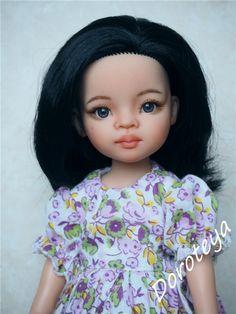 Два нежных цветочка. ООАК кукол Поала Рейна, Paola Reina / Paola Reina, Antonio Juan и другие испанские куклы / Бэйбики. Куклы фото. Одежда для кукол