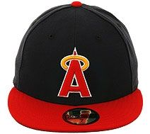 f5af52c2962 New Era Authentic Collection California Angels 1988 Turn Back The Clock  Fitted Hat - Navy
