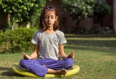 Yoga can even help kids overcome these stressors. It would not be easy for you to convince your kids to do yoga So what's the way out? Add fun to yoga Mindfulness In Schools, Mindfulness Training, Mindfulness Exercises, Mindfulness Activities, Calming Activities, Counseling Activities, Fun Activities, Music For Kids, Yoga For Kids