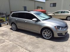 VWVortex.com - Golf SportWagens with aftermarket or other model wheels (info and pic request)