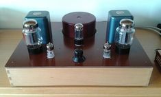 Picture of KT66 Single Ended Amplifier with 6N3P SRPP driver
