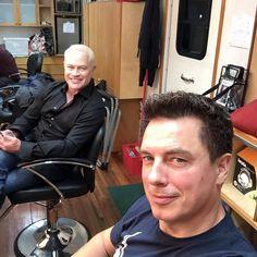 John Barrowman & Neal McDonough #Arrow