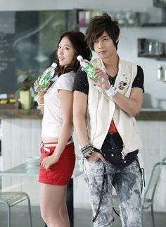 stairway to heaven korean drama | Kim Hyun Joong & Park Shin Hye - Dynamic Kin CF - KOREAN DRAMA