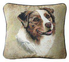 Australian Shepherd Tapestry Cushion http://www.abentleycushions.co.uk/detail.asp?pID=2131