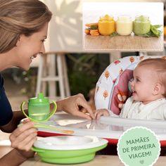 9 dicas para congelar papinha. Ter a comida do bebê guardada no freezer para aqueles dias corridos e em caso de emergência é sempre bom! Vamos te explicar o que você precisa saber na hora de congelar a papinha do seu filho e facilitar o dia a dia. - O que congelar? - Higienização - Quantidade - Armazenamento - Consumo - Nutrientes - Descongelamento - Fogão ou microondas? - (Des)congela? Todas essas dicas estão lá na nossa página do facebook: Facebook.com/chiccobrasil