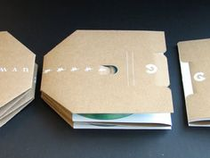 Packaging of the World: Creative Package Design Archive and Gallery: Sustainable CD Case