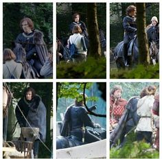 Photos: On September 22, 2014 Benedict Cumberbatch began filming RICHARD III for the BBC's THE HOLLOW CROWN.
