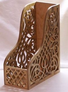 Magazine Holder - Scroll Saw Woodworking & Crafts Photo Gallery