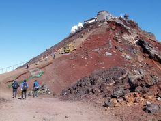 お鉢巡り |富士山登山ルートガイド。Mount Fuji climbing route guide