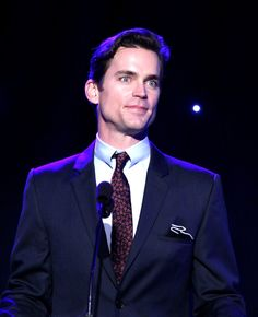 Actor Matt Bomer speaks onstage during the 5th Annual Reel Stories, Real Lives event benefiting MPTF at Milk Studios on April 7, 2016 in Hollywood, California.