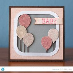 Baby Girl 3D Card - Finding Time To Create