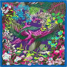 knockoff hermes - La Maison des Carr��s Herm��s | Flamingo Party | Herm��s | Pinterest ...