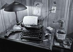 film noir desk - Google Search