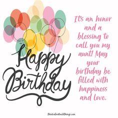 Happy Birthday Aunt | Coloring Page | Happy birthday aunt ...