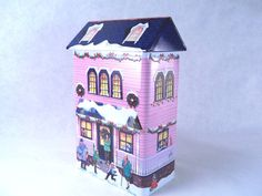 Victorian Pink Lady House Tin Building