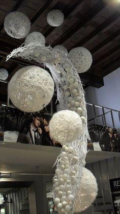 huge wool balls