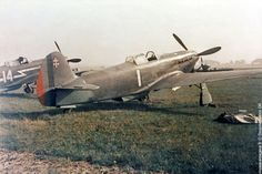 Yakovlev Yak-3.Free French Normandie-Niemen fighter group with Red Air Force,only received  Yak-3 in December 1944, but its pilots laid claim to 94 unique victories or shared within 5 months.Group's return,since 1942 who had fought alongside Soviets took place June 20,1945.On Stalin's orders,as token of thanks,40 a/c were personally awarded to pilots,29 old & 13 new.
