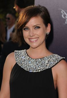 Jessica Stroup Short Side Part