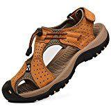 #9: Rismart Hombre Punta Cerrado Gancho y Bucle Al aire libre Excursionismo Cuero Zapatos Sandalias y chanclas --          http://ift.tt/2vsIZXa          #zapato #zapatos #zapatosdemoda