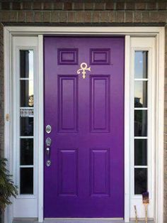 Prince tribute purple door