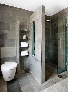 Cool Basement Bathroom Ideas On Budget, Check It Out! Basement Bathroom Ideas – What should you think about when developing your basement bathroom? Right here are basement bathroom ideas to think about prior to you begin. Contemporary Bathroom Designs, Bathroom Design Small, Simple Bathroom, Bathroom Layout, Bathroom Interior Design, Master Bathroom, Contemporary Design, Bathroom Cabinets, Bathroom Vanities