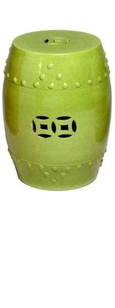 Lime Green Ceramic Garden Stool By Mecox Gardens. Shop Online For Home  Furniture And Custom Designs.