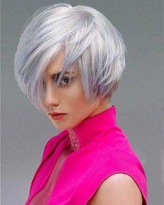 Superb Platinum Blonde Short Haircuts 2016 for Women