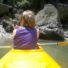 Kayaking around Ha Lon Bay