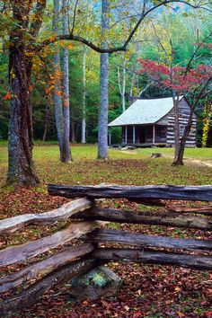 Carter Shields Cabin, Cades Cove, Great Smoky Mountains National Park, Tennessee © Doug Hickok All Rights Reserved