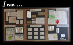 I can ..... Showcasing independent mark making and writing in my FS2 class.
